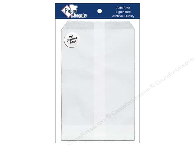Paper Accents Bag 4 1/2 x 6 3/4 in. Glassine 100 pc.
