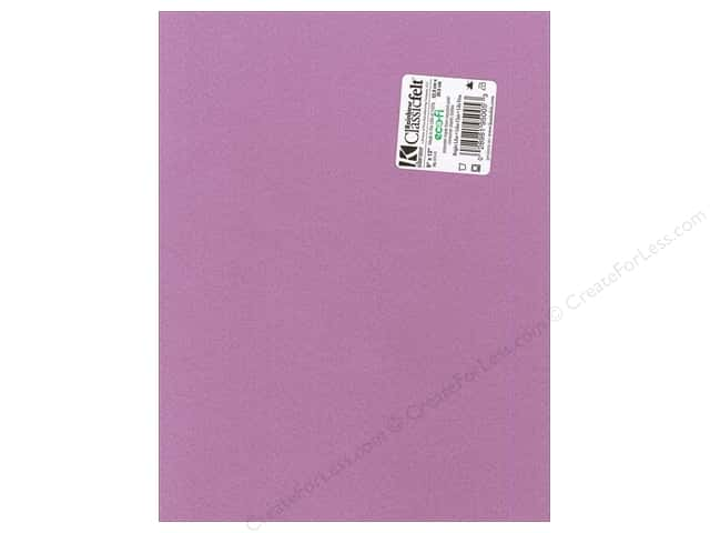 Kunin Felt 9 x 12 in. Bright Lilac (24 sheets)