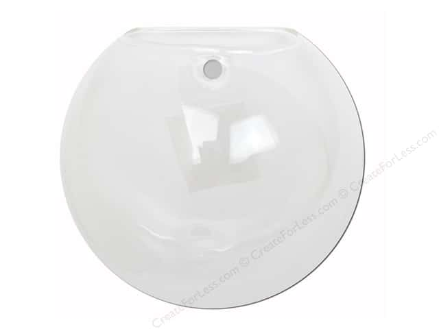 Sierra Pacific Decor Glass Wall Bubble Pocket 4.75  in. Clear