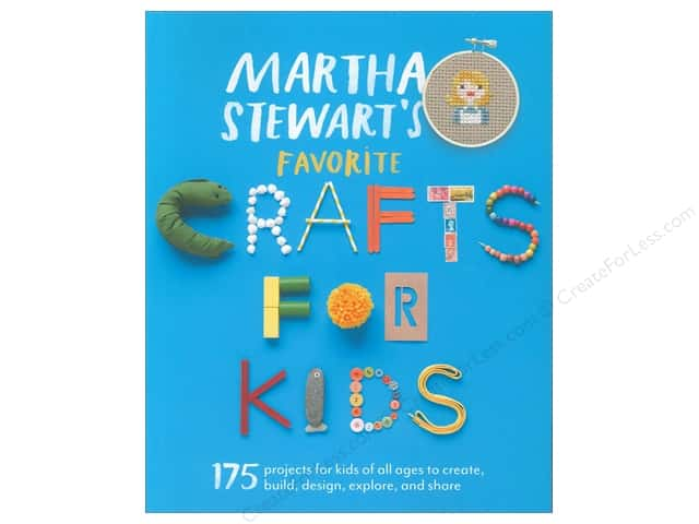Potter Publishers Martha Stewart's Favorite Crafts For Kids Book
