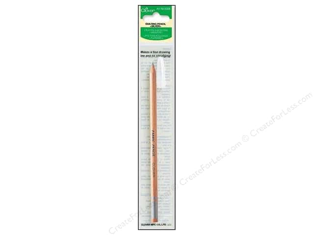 Clover Quilting Marking Pencil Silver