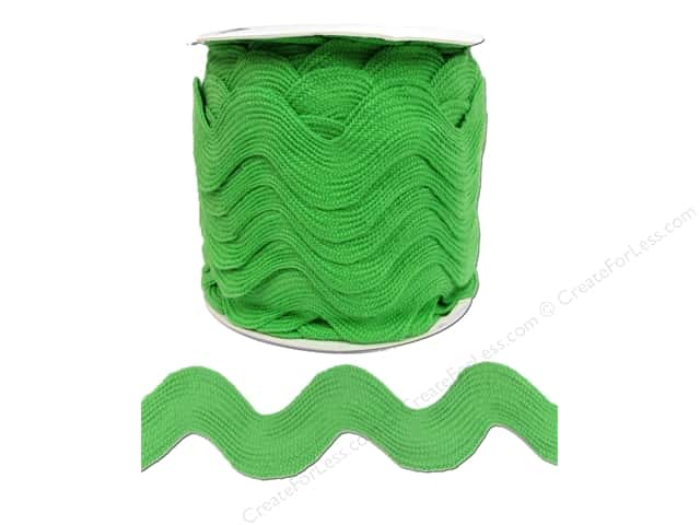 Jumbo Ric Rac by Cheep Trims  1 13/32 in. Lime (24 yards)