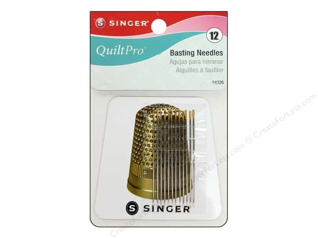 Singer Notions QuiltPro Basting Needle with Magnet 12pc