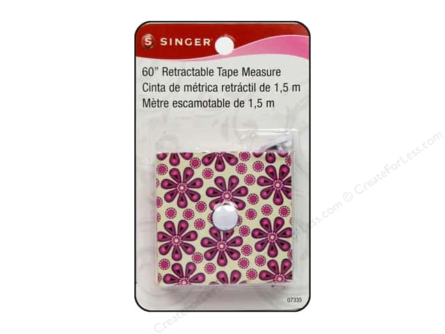 Singer Notions Tape Measure Retractable 60""