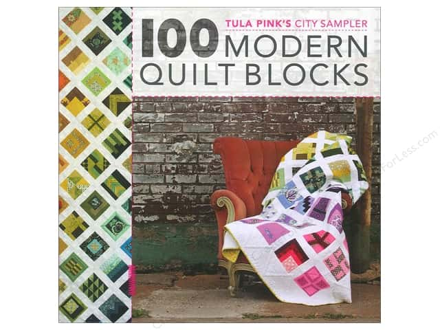 David & Charles Tula Pink's City Sampler 100 Modern Quilt Blocks Book