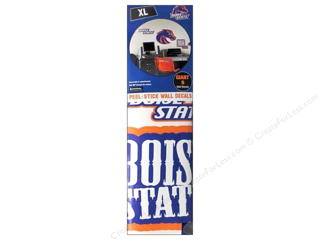 York Peel & Stick Decal Giant Boise State