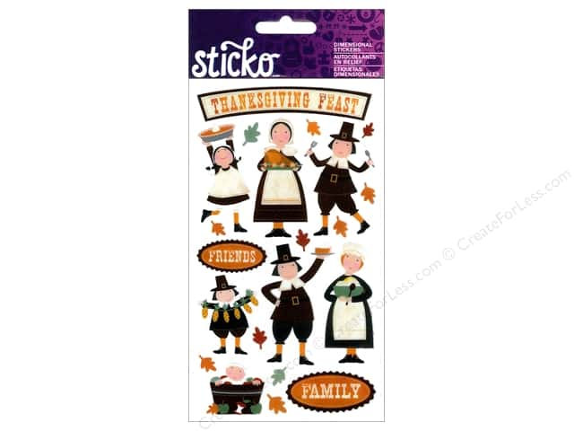EK Sticko Stickers Thanksgiving Fun