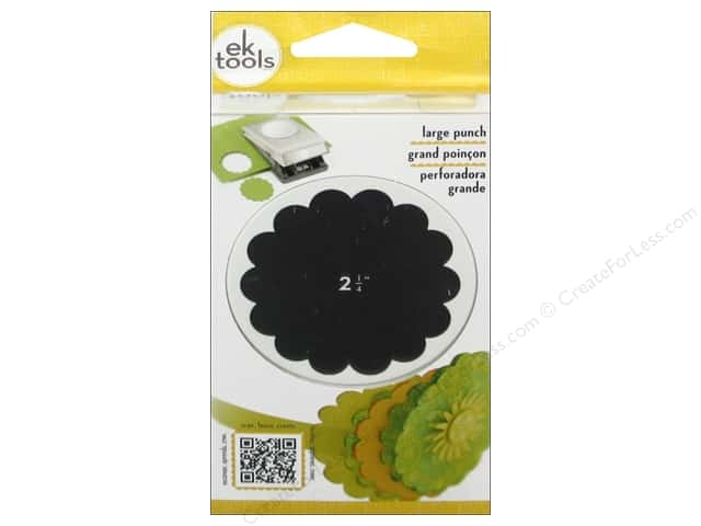 EK Tools Large Punch - Scallop Circle 2 1/4 in.