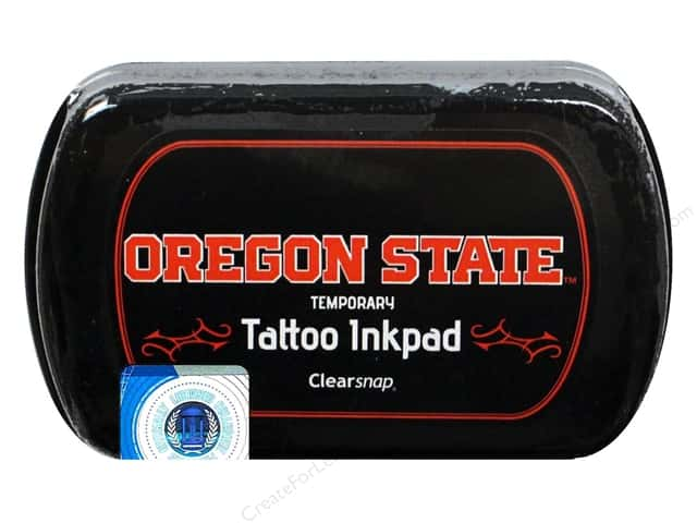 ColorBox Tattoo Ink Pad Oregon State University Black