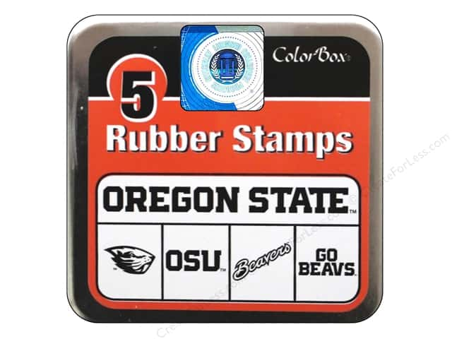 ColorBox Rubber Stamp Set Oregon State University