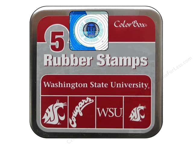 ColorBox Rubber Stamp Set Washington State University