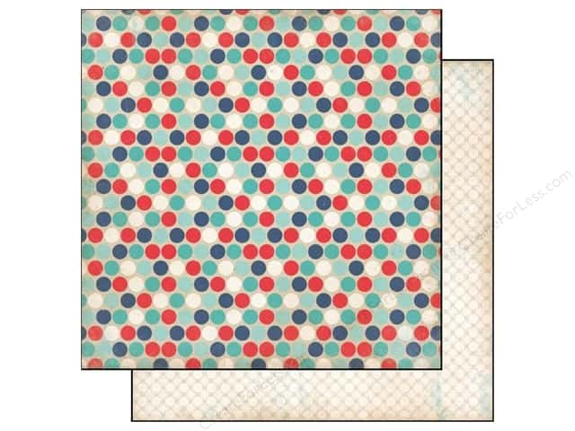 Carta Bella 12 x 12 in. Paper Rough & Tumble Daring Dots (25 sheets)