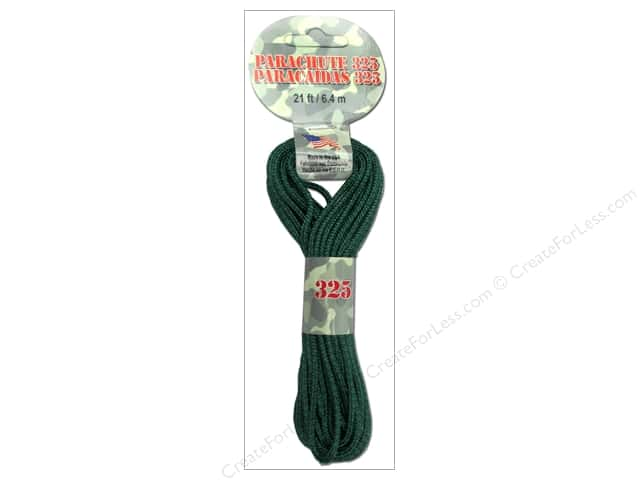 Pepperell 325 Parachute Cord 21 ft. Forest Camo
