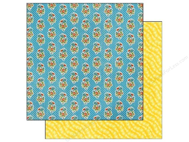 Graphic 45 12 x 12 in. Paper Mother Goose A Pocket Full Of Posies (25 sheets)