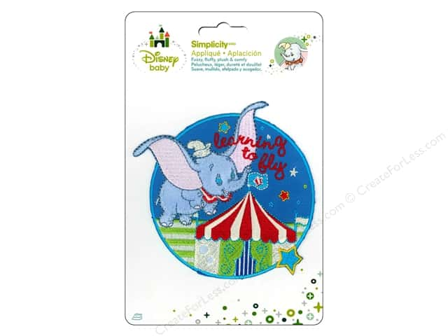 Simplicity Disney Baby Iron On Dumbo Flying Circus