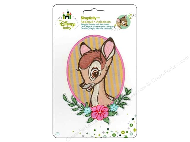 Simplicity Disney Baby Iron On Bambi Portrait