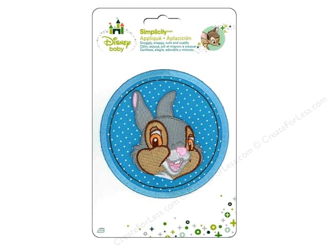 Simplicity Disney Baby Iron On Thumper In Circle