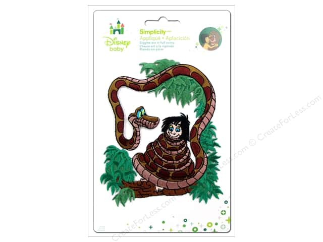 Simplicity Disney Baby Iron On Jungle Book Snake