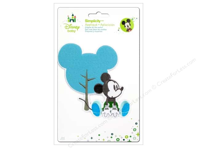 Simplicity Disney Baby Iron On Mickey Head Shape