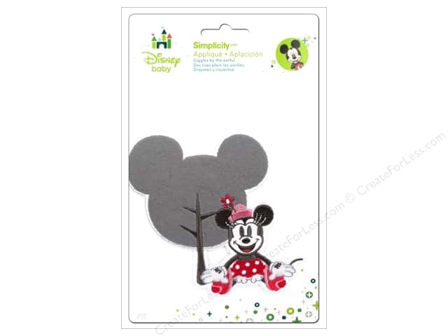 Simplicity Disney Baby Iron On Minnie Head Shape