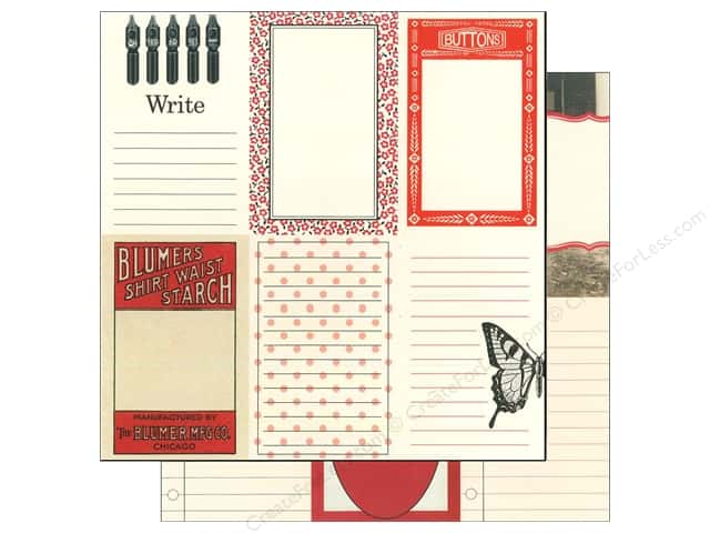 Echo Park 12 x 12 in. Paper Photo Freedom Jenni Bowlin Collection Buttons & Butterflies (15 sheets)