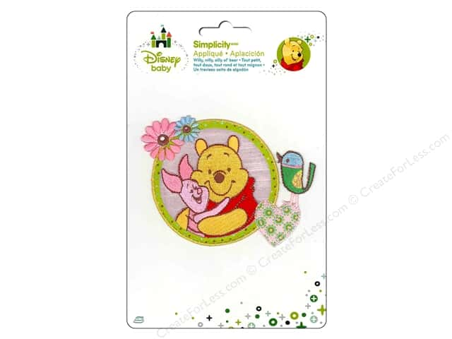 Simplicity Disney Baby Iron On Pooh And Piglet
