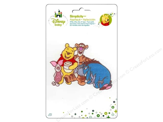 Simplicity Disney Baby Iron On Pooh And Friends