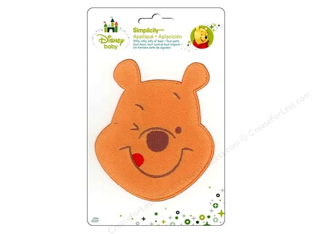 Simplicity Disney Baby Iron On Pooh Smiling