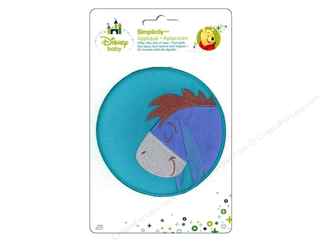 Simplicity Disney Baby Iron On Eeyore Sleeping