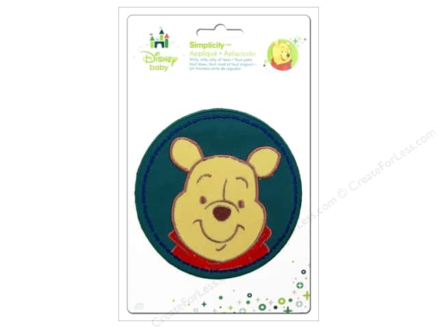 Simplicity Disney Baby Iron On Pooh In A Circle