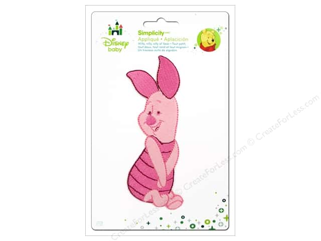 Simplicity Disney Baby Iron On Full Body Piglet Posing