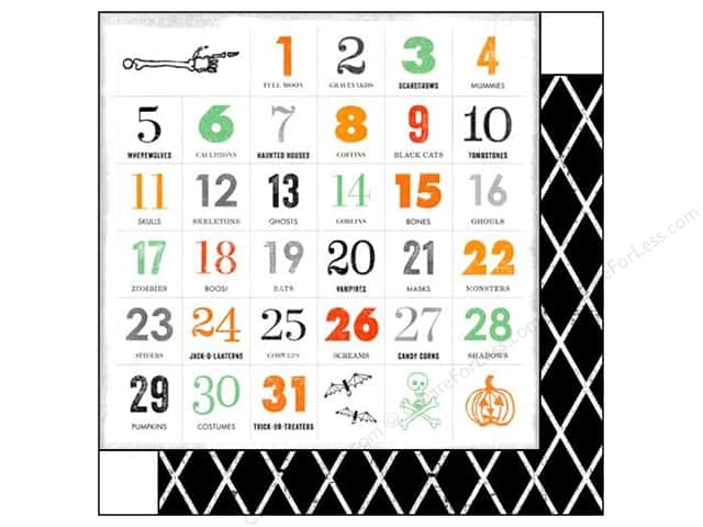 Glitz Design 12 x 12 in. Paper Raven Countdown (25 sheets)