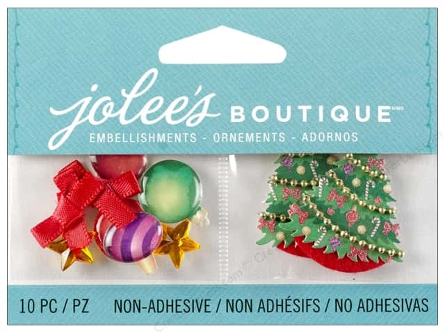 Jolee's Boutique Embellishment Christmas Ornaments and Trees