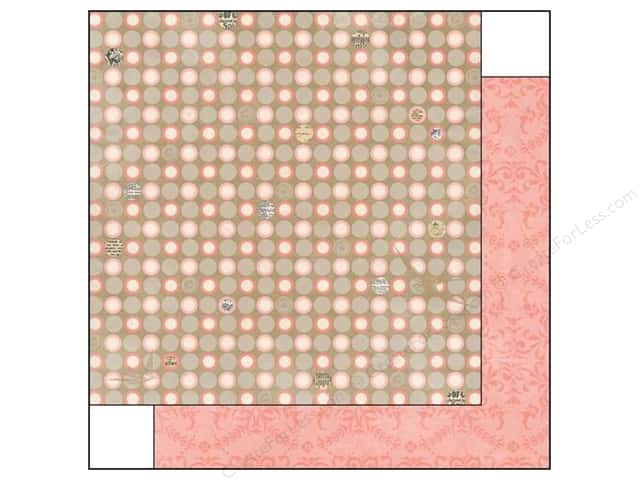 Bo Bunny 12 x 12 in. Paper The Avenues Collection Dot (25 sheets)