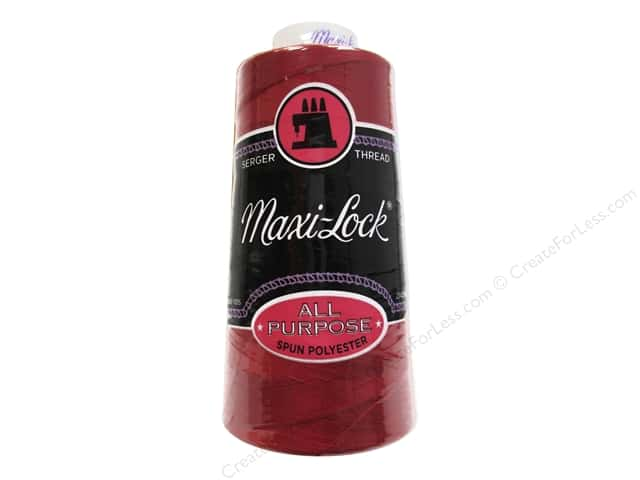Maxi-Lock Serger Thread 3000 yd. #270 Poppy Red