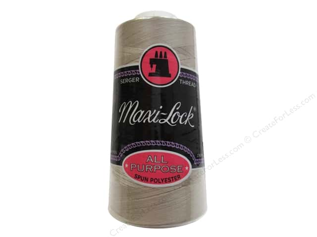 Maxi-Lock Serger Thread 3000 yd. #32158 Beige
