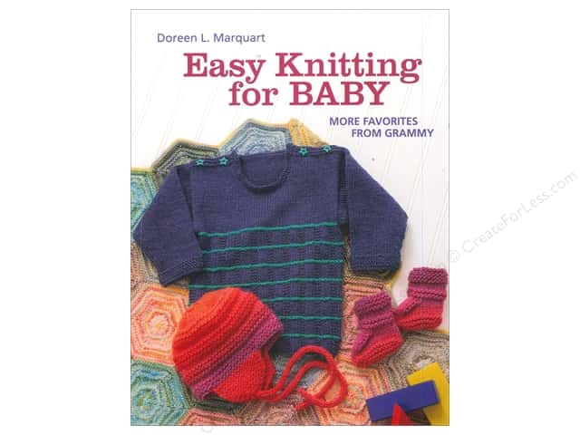 That Patchwork Place Easy Knitting For Baby Book by Doreen L. Marquart