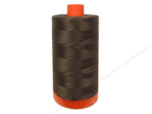 Aurifil Mako Cotton Quilting Thread 50 wt. #1285 Medium Bark 1420 yd.
