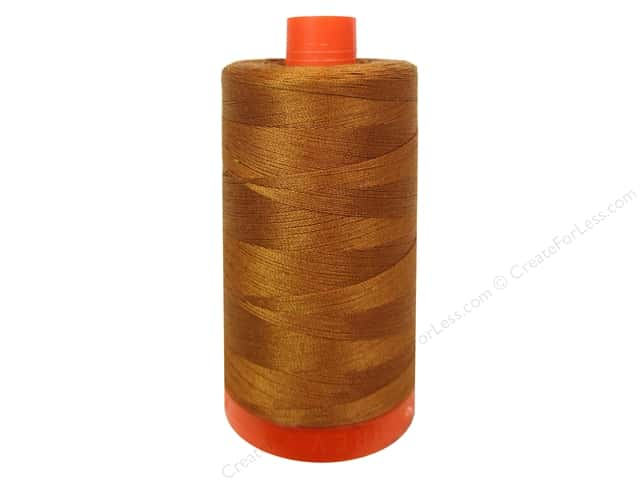 Aurifil Mako Cotton Quilting Thread 50 wt. #2155 Cinnamon 1420 yd.