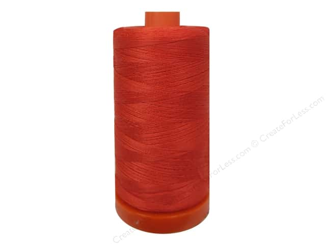 Aurifil Mako Cotton Quilting Thread 50 wt. #2277 Light Red Orange 1420 yd.