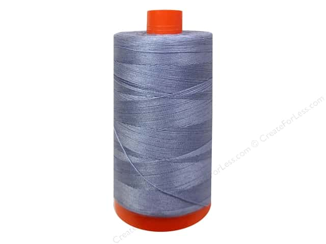 Aurifil Mako Cotton Quilting Thread 50 wt. #2524 Grey Violet 1420 yd.