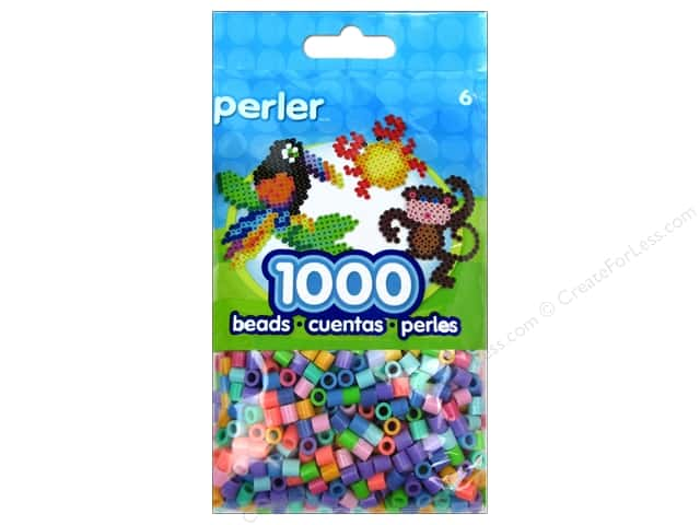 Perler Bead 1000 pc. Pastel Mix
