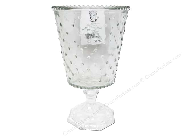 Sierra Pacific Kitchen Glass Goblet 4.75  in. x 7 5/8  in. Clear
