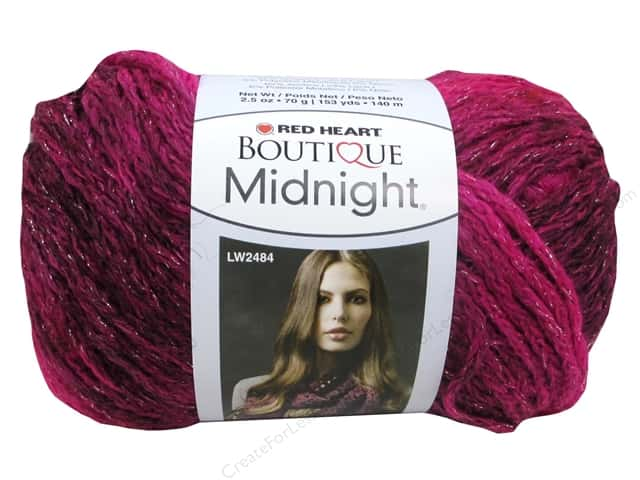 Red Heart Boutique Midnight Yarn #1938 Radiant 153 yd.