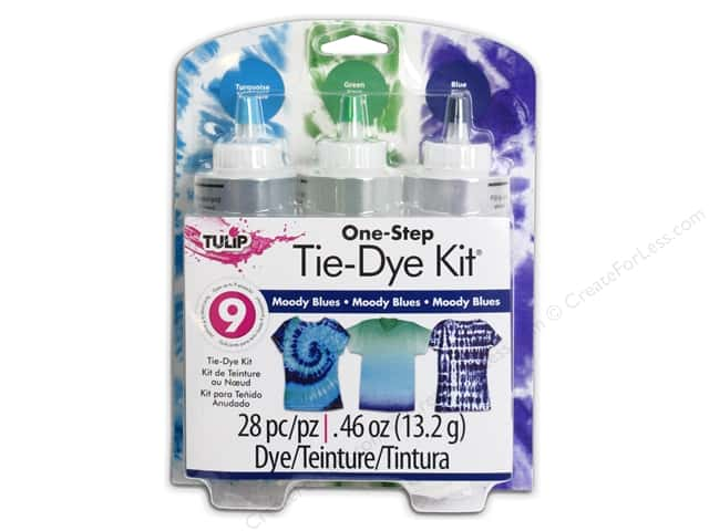 Tulip Dye Kits One Step Tie 3 Color Moody Blues