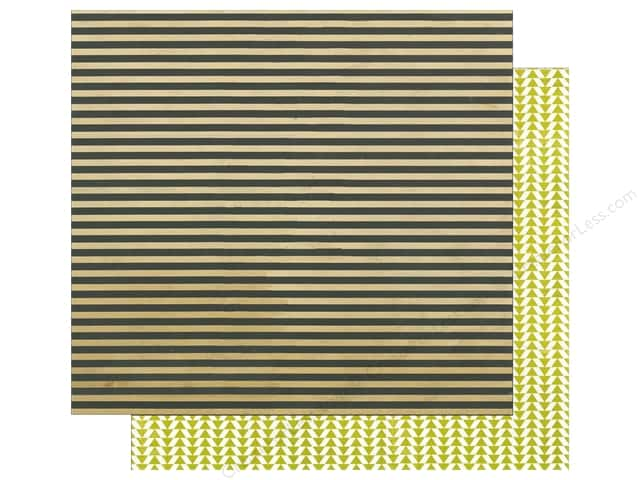 Glitz Design 12 x 12 in. Paper Finnley Stripe (25 sheets)