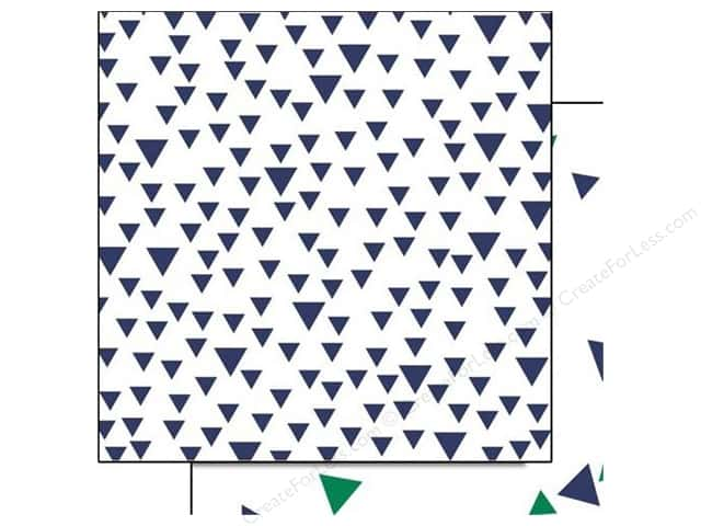 Glitz Design 12 x 12 in. Paper Dapper Dan Triangles (25 sheets)