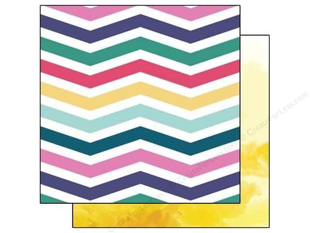 Glitz Design 12 x 12 in. Paper Wild & Free Chevron (25 sheets)