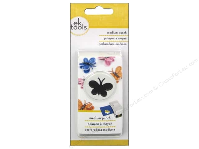 EK Success Medium Punch Butterfly 7/8 in.