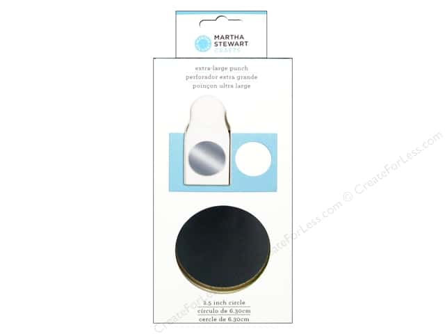 Martha Stewart Extra Large Punch 2 1/2 in. Circle